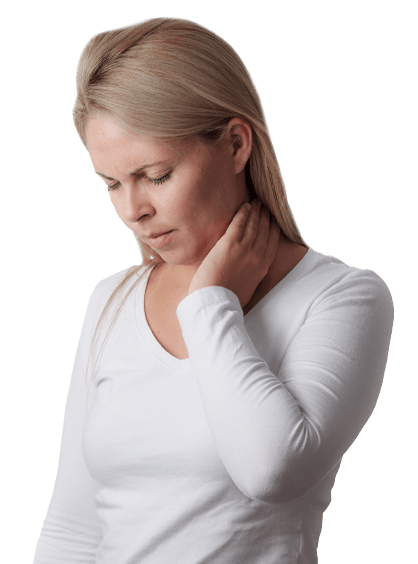 Chronic Pain St. Petersburg FL Lady With Neck Pain