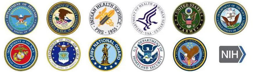 Government Agencies Logos Two Rows